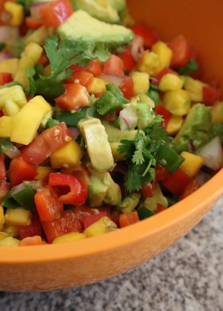 Pineapple Avocado Salsa