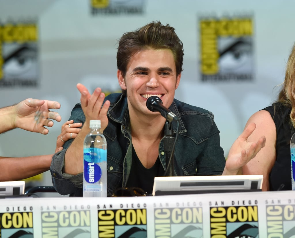 Paul Wesley and Ian Somerhalder Have Some Serious Brotherly Love