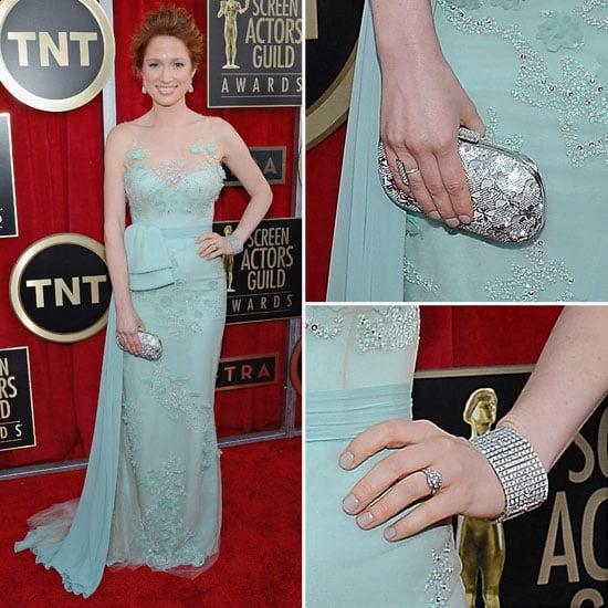 Ellie Kemper: SAG Awards Red Carpet Dresses 2013