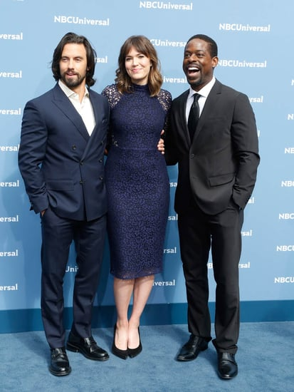 Mandy Moore, Milo Ventimiglia, and Sterling K Brown promote new show This Is Us at NBCUniversal Upfront