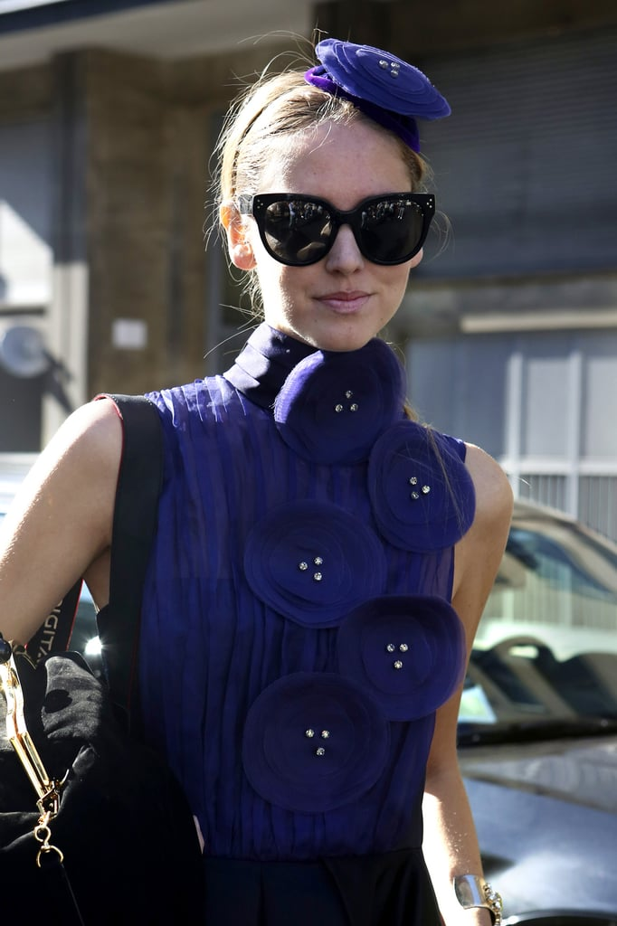 Get inspiration from the Brits, and purchase a fascinator headband in a bold and bright hue.