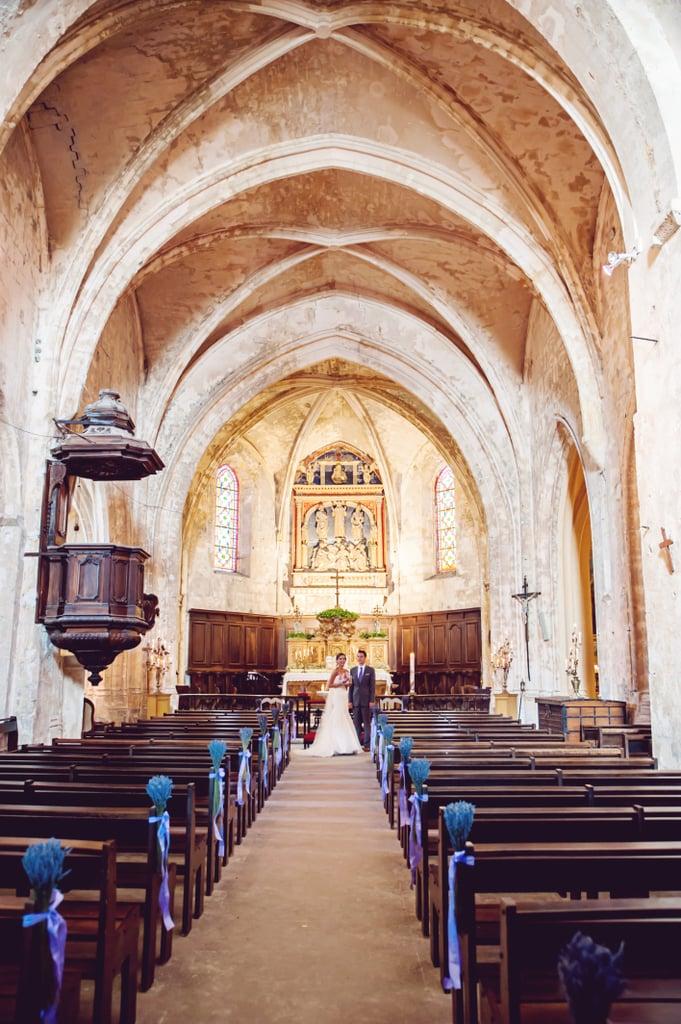 12th-Century Church Setting