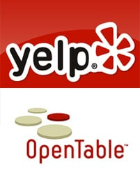 Yelp Partners With OpenTable to Offer Reservations
