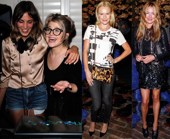 Pictures of Kelly Osbourne Laughing With Alexa Chung At Mulberry Party After Breakup, Plus Kate Bosworth, Cat Deeley