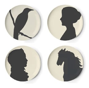 Steal of the Day: Gothic Dessert Plate