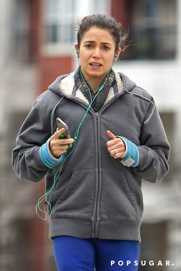celebrityNikki-Reed-Shows-Engagement-Ring-While-Running