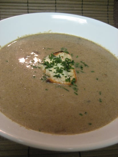Soup's On: Mushroom Soup With Blue Cheese Toasts