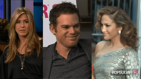 Video of Jennifer Aniston on The Tonight Show, Michael C. Hall Interview About Dexter and Batman 3, and Jennifer Lopez May Be an
