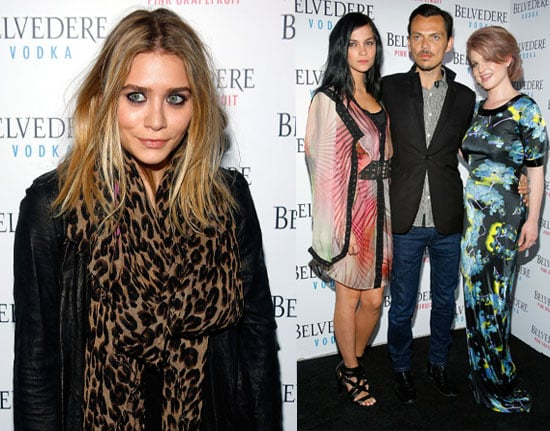 Pictures from Belvedere Pink Grapefruit Launch Party with Ashley Olsen, Kelly Osbourne, Leigh Lezark and Estelle