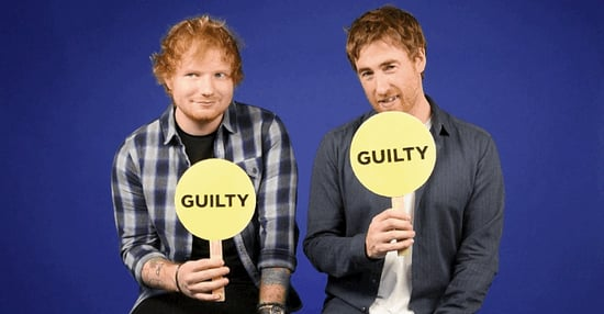 """Ed Sheeran And Jamie Lawson Play """"Never Have I Ever"""""""