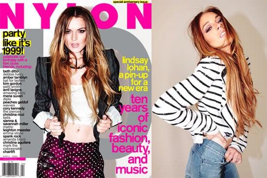 Lindsay in Nylon