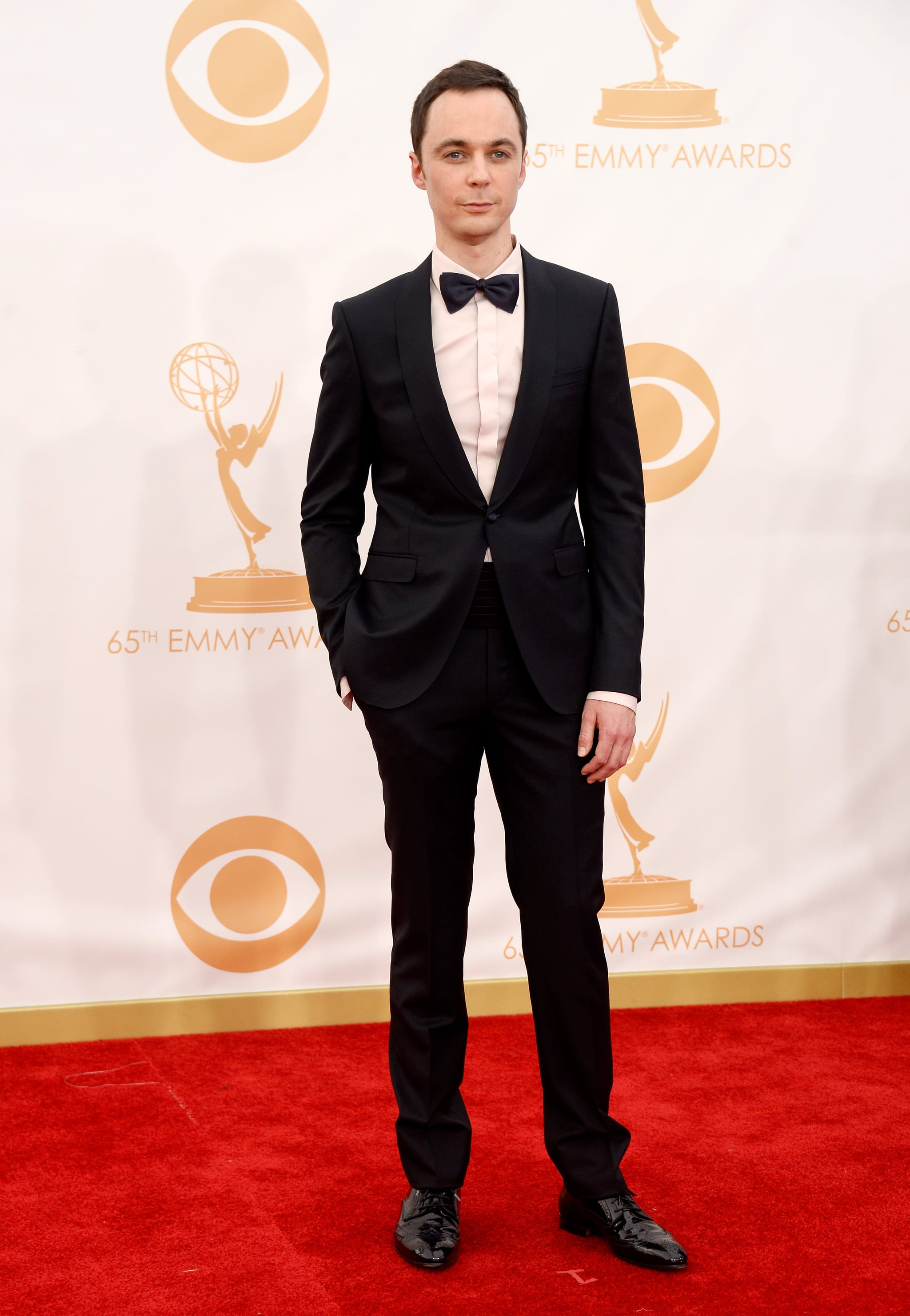 The Big Bang Theory's Jim Parsons attended the Emmys.