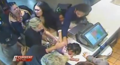 (VIDEO) McDonald's Staff Saves 14-Month-Old from Choking