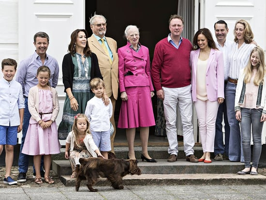 The Danish Royal Family Kick Off Their Summer Vacation by Frolicking with Their Adorable Dogs