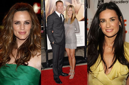 Photo of Jennifer Garner, Jennifer Aniston, and Demi Moore