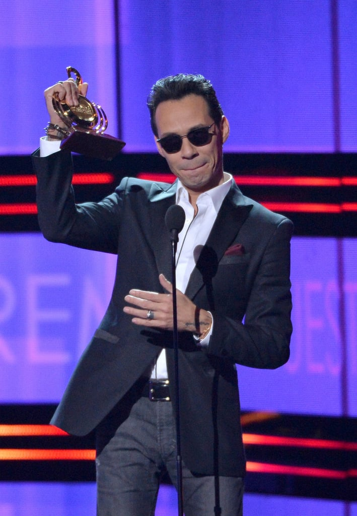 """When Marc Anthony Gave His Empowering """"Somos Latinos!"""" Speech at Premio Lo Nuestro"""