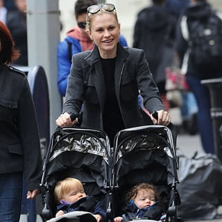 Pictures Of Anna Paquin With Twins Charlie And Poppy Moyer