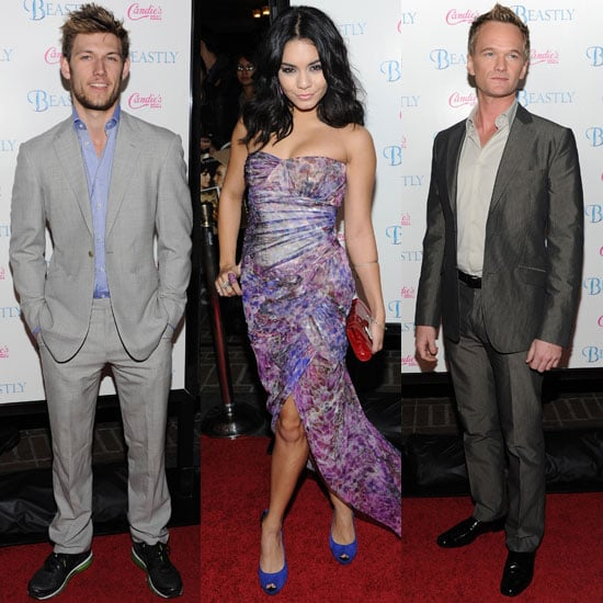 Pictures of Alex Pettyfer at Beastly Premiere While His Home Was On Fire Plus Vanessa Hudgens and Neil Patrick Harris