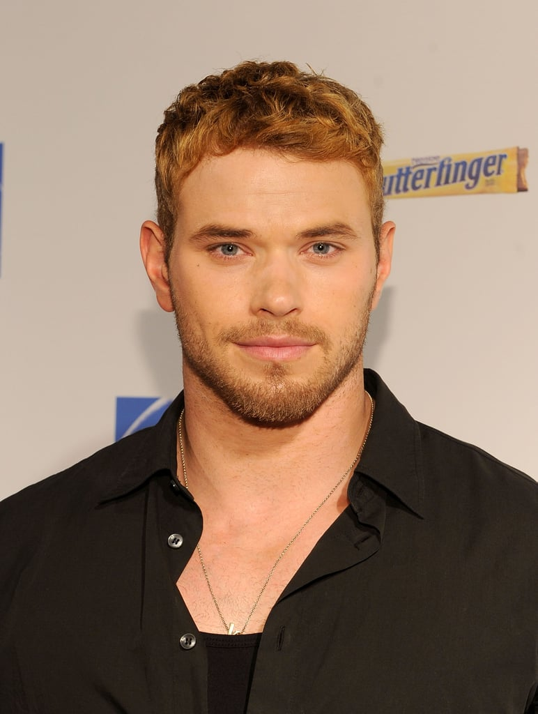 Kellan Lutz looked handsome at Comic-Con in 2011.