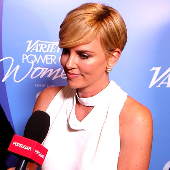 """Charlize Theron on Being Inspired by Her Son: """"I Don't Want to Look at Him and Say, 'I Did Nothing'"""""""