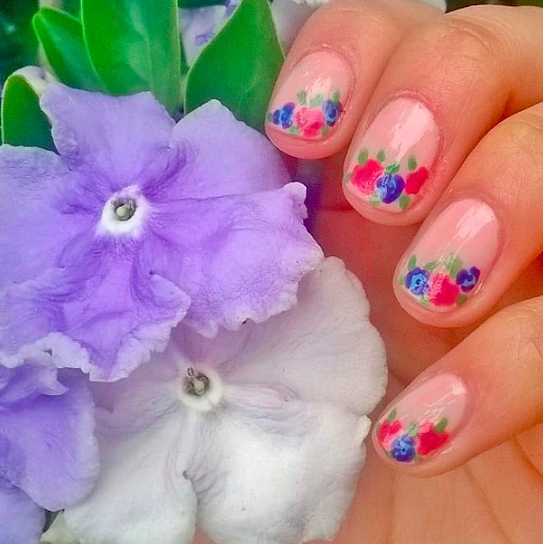 Floral Take on French