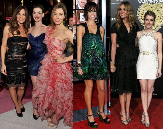 Valentine's Day Premiere Photos Including Jennifer Garner, Jessica Alba, Jessica Biel, Julia Roberts and More 2010-02-09 17:00:14