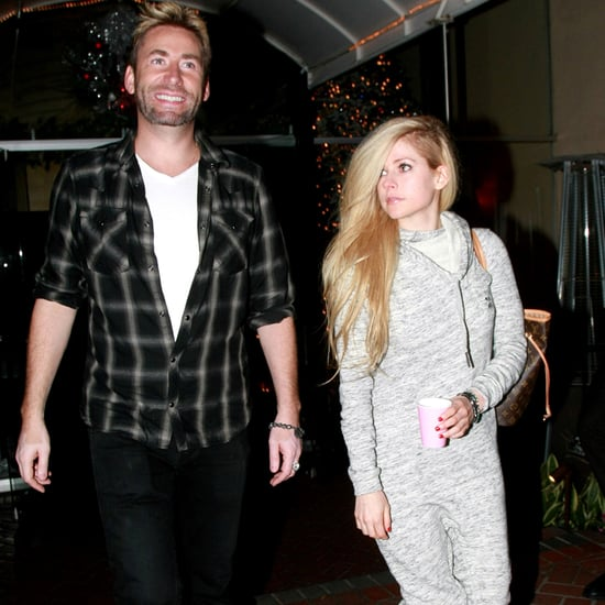 Avril Lavigne and Chad Kroeger Out in LA December 2015