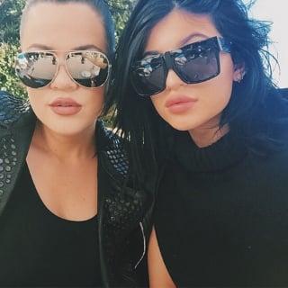 Khloe Kardashian and Kylie Jenner Beauty
