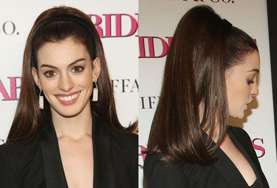 Anne Hathaway's Hair at the Bride Wars Premiere