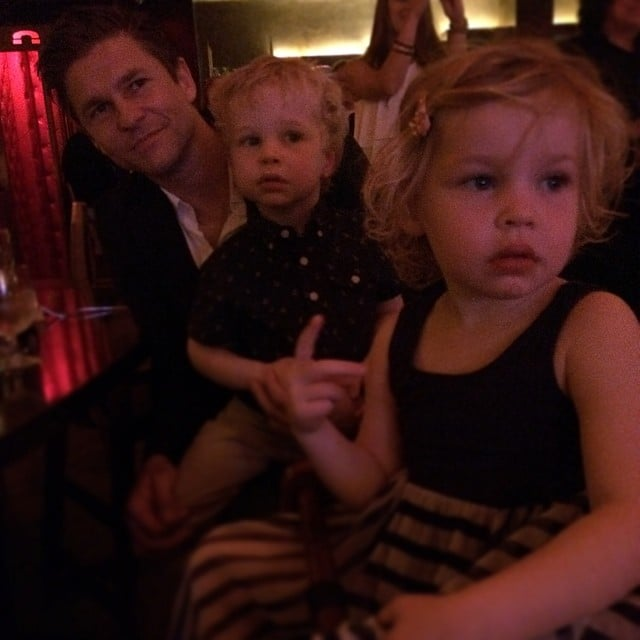 Neil Patrick Harris and David Burtka attended a gospel brunch in Manhattan's Harlem with their twins, Gideon and Harper. Source: Instagram user instagranph