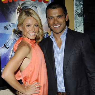 Kelly Ripa and Mark Consuelos at the Premiere of Fly Me to The Moon