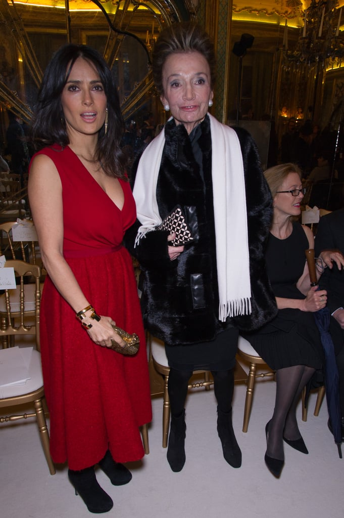 See all the Stars at the Paris Couture Shows