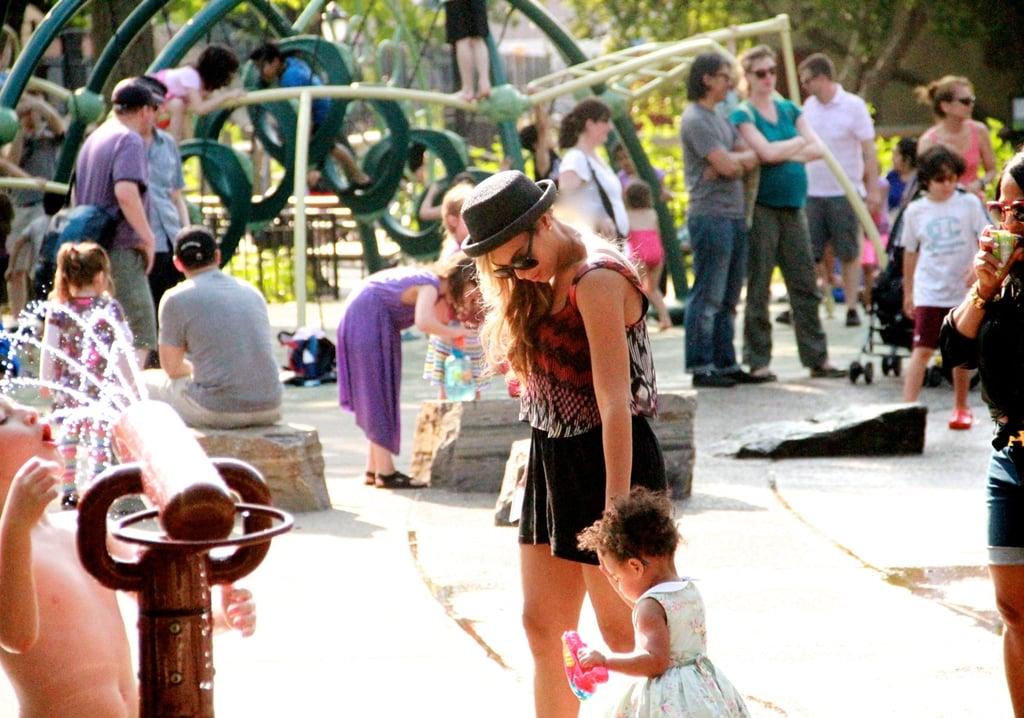 And the playground!