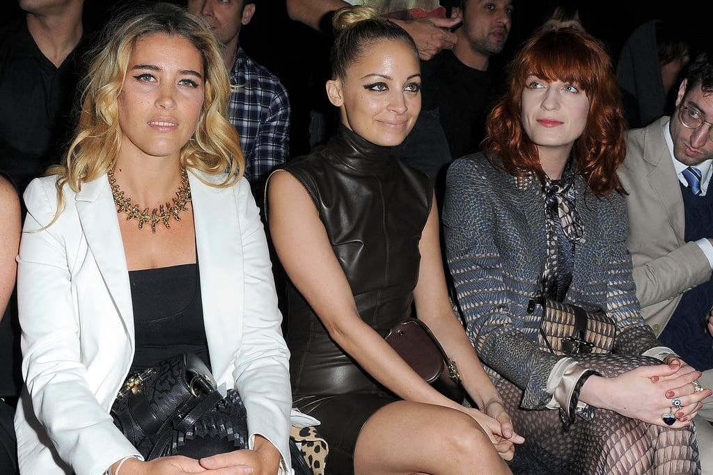 Vahina Giocante, Nicole Richie and Florence Welch