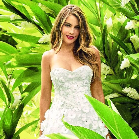 Sofia Vergara in Martha Stewart Weddings