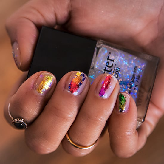 Showstopping Foil Nail Art in 5 Minutes or Less