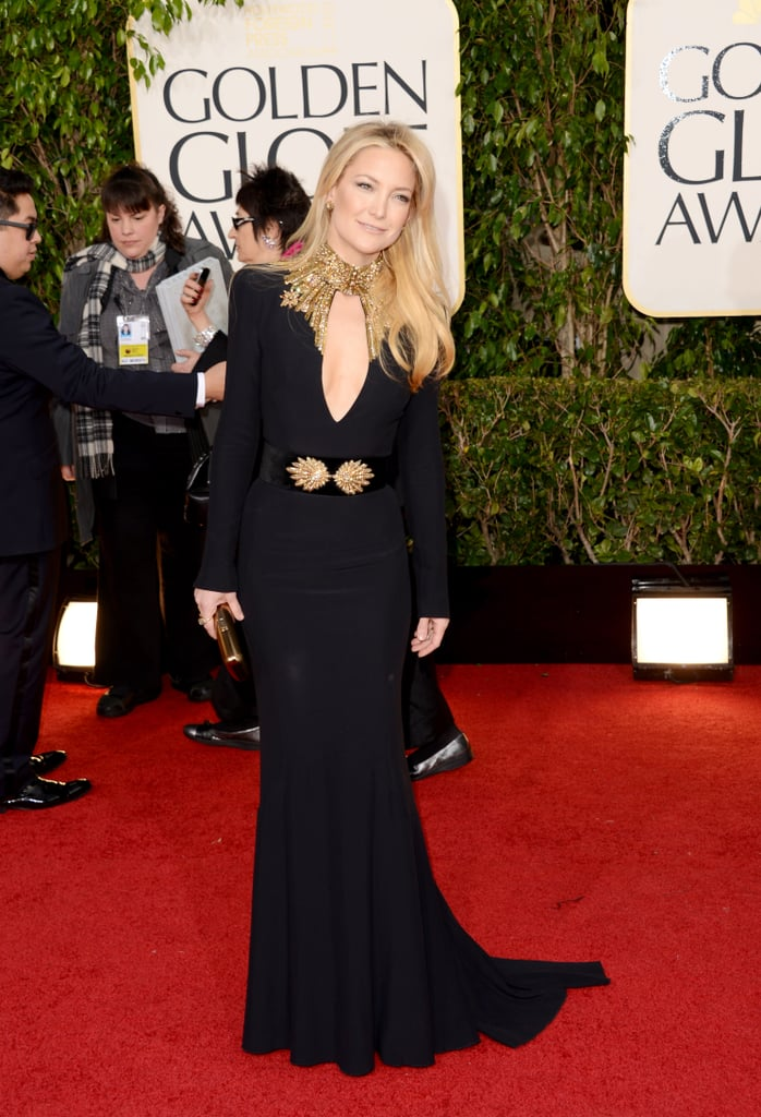 Kate Hudson narrowly missed a spot on our best dressed list; we lovedher embellished Alexander McQueen gown.
