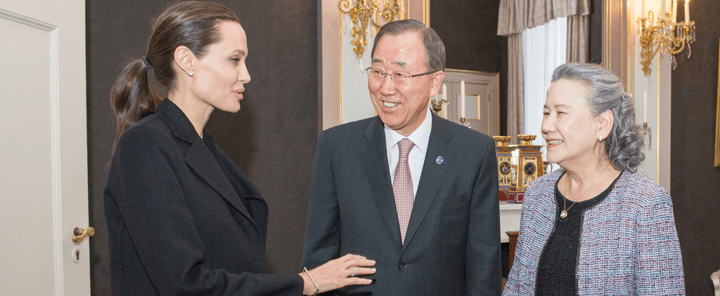 Angelina Has the Trick to Taking Any Outfit to the Next Level