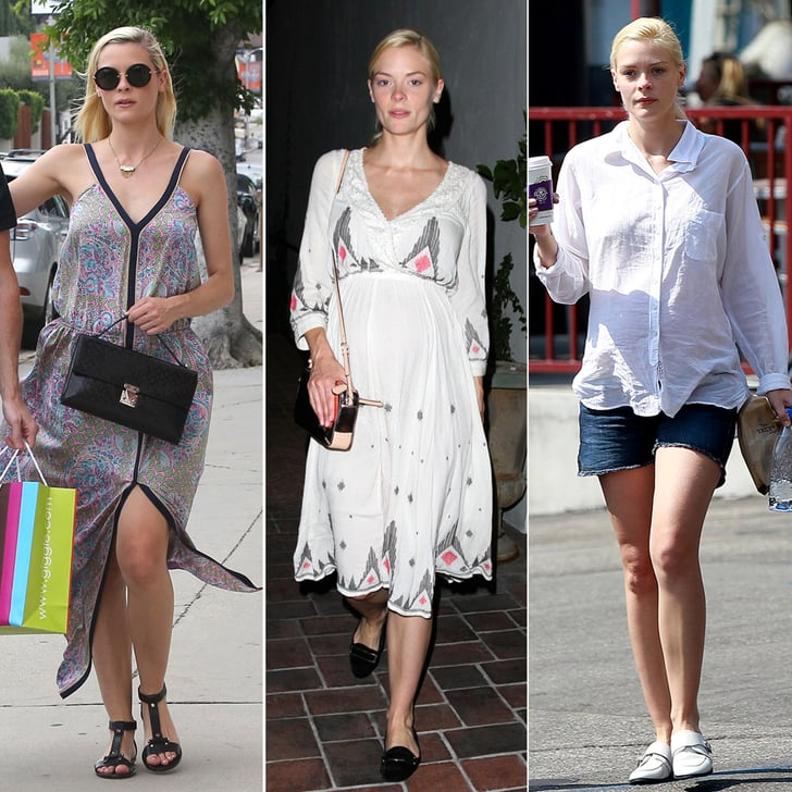 Look Back at New Mom Jaime King's Cool Maternity Style