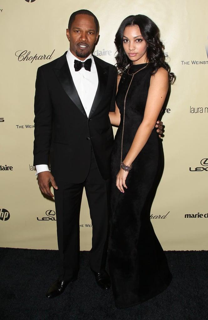 Jamie Foxx attended the Weinstein afterparty with his stunning daughter Corinne Bishop.