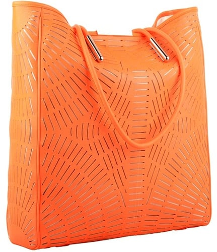 McQ - Shopper (Neon Orange) - Bags and Luggage
