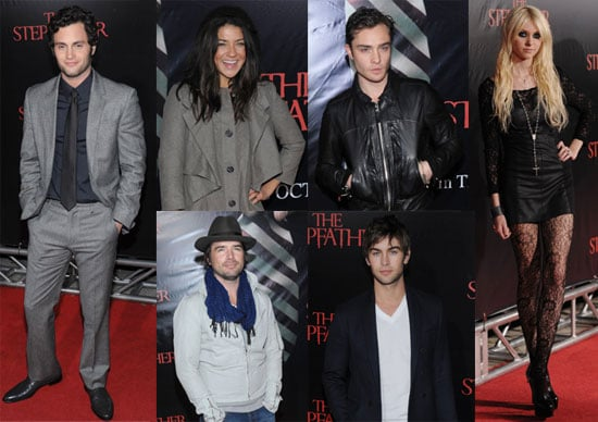 Photos of the Gossip Girl Cast At Penn Badgley's The Stepfather Premiere in NYC