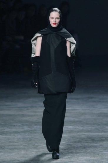 Fall 2011 Paris Fashion Week: Rick Owens
