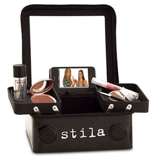 Combination Makeup Case and iPod Dock with Speakers From Stila