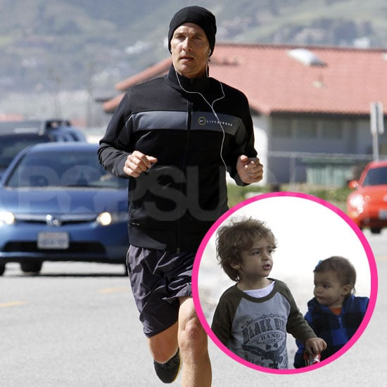 Pictures of Matthew McConaughey Before Reese Witherspoon's Wedding and Levi and Vida