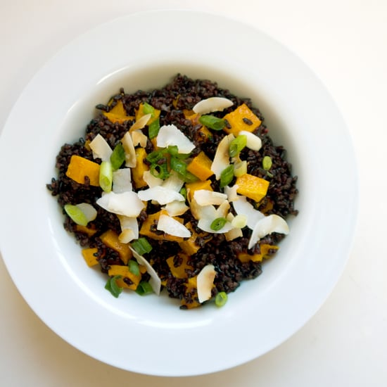 Black Rice and Butternut Squash Salad