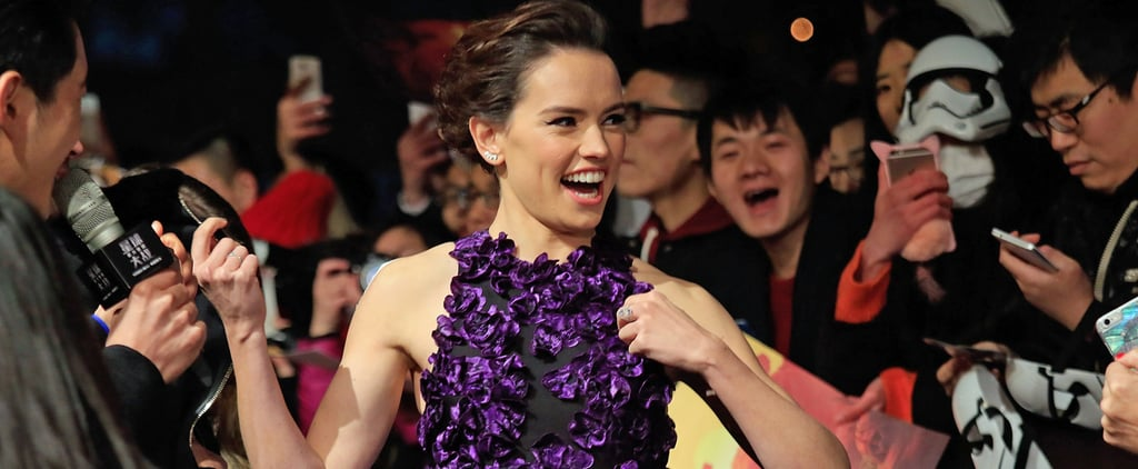Daisy Ridley Is a Fashion Force to Be Reckoned With in This Bright Purple Dress