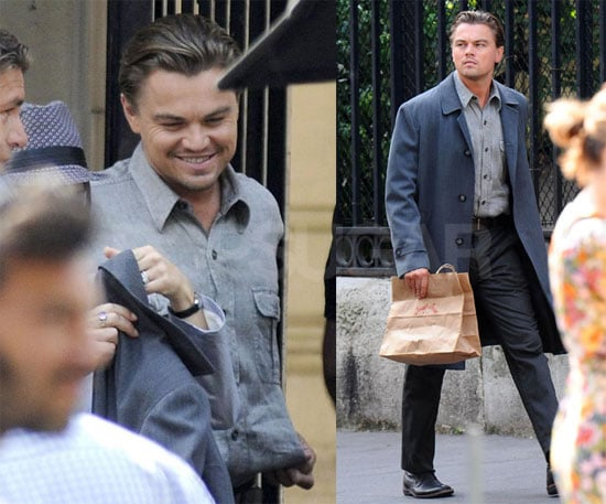 Photos of Leonardo DiCaprio in France