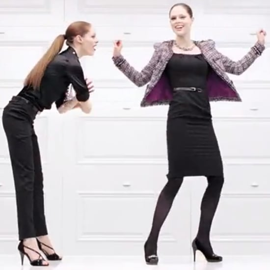 Coco Rocha Dances in Second White House Black Market Video