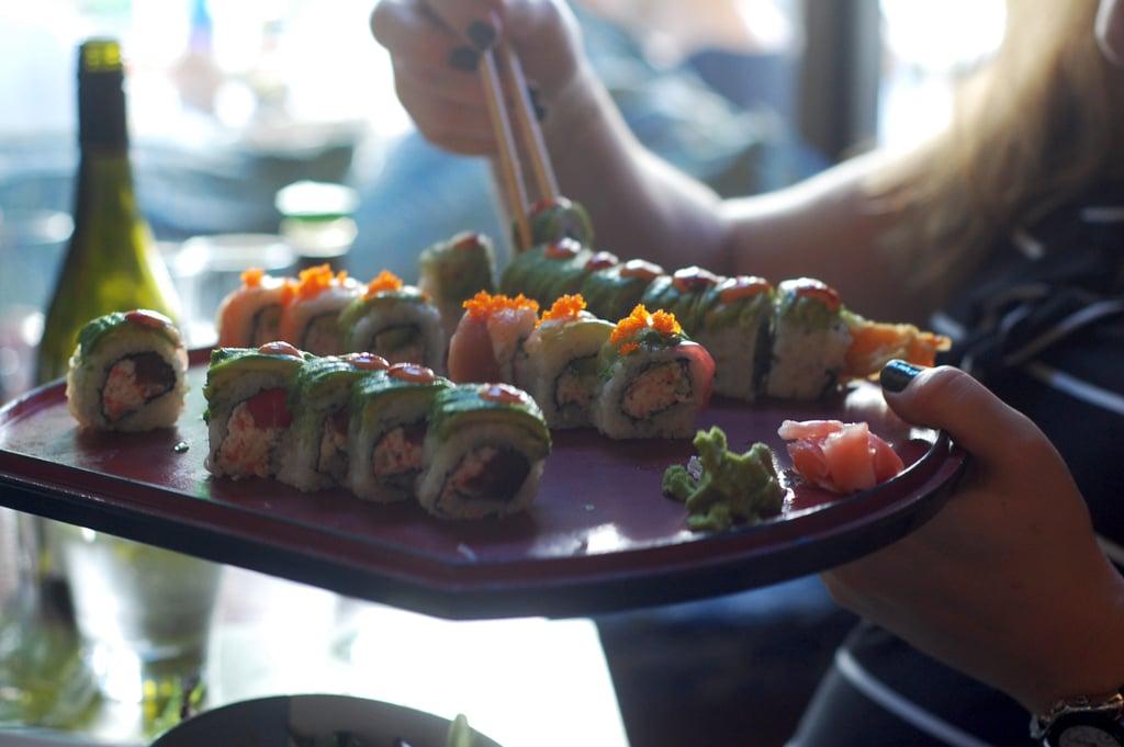 Rolls of Sushi